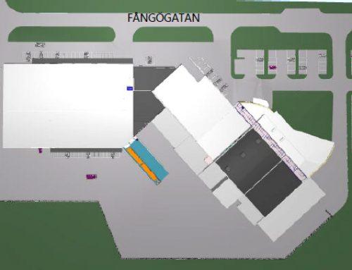 Nya parkeringsplatser för våra distributionsbilar